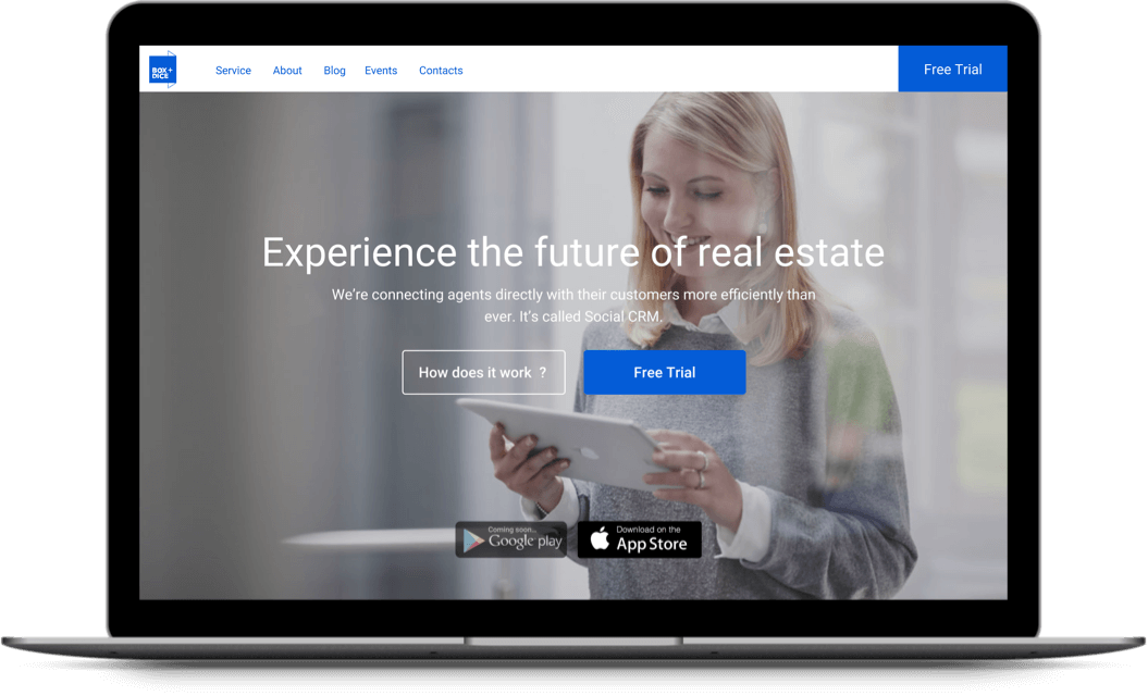 Box+Dice is a CRM for real estate