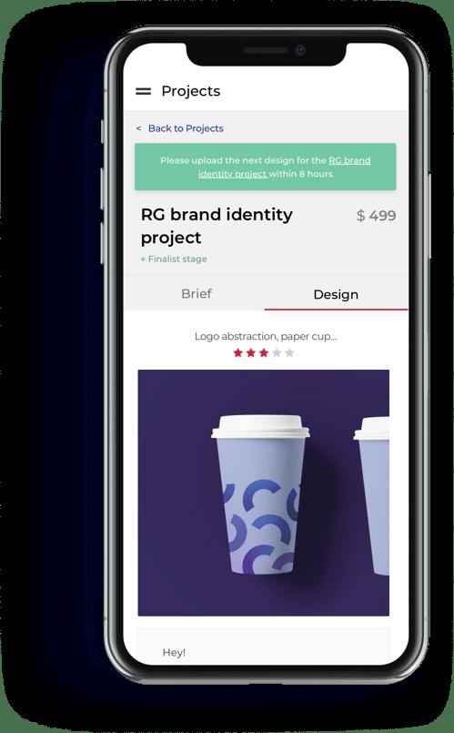 DesignBro RG identity project