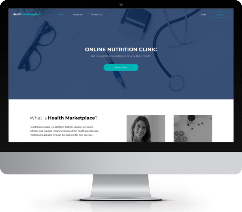 An Online Health Consultation Marketplace